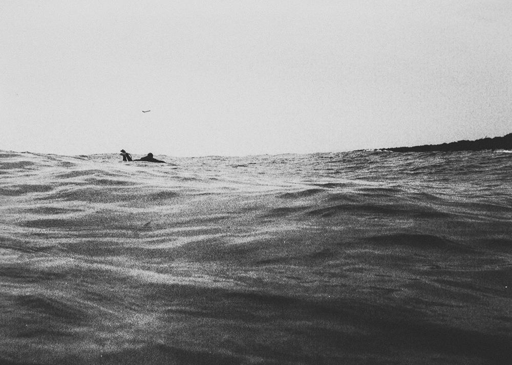 surf plane ocean