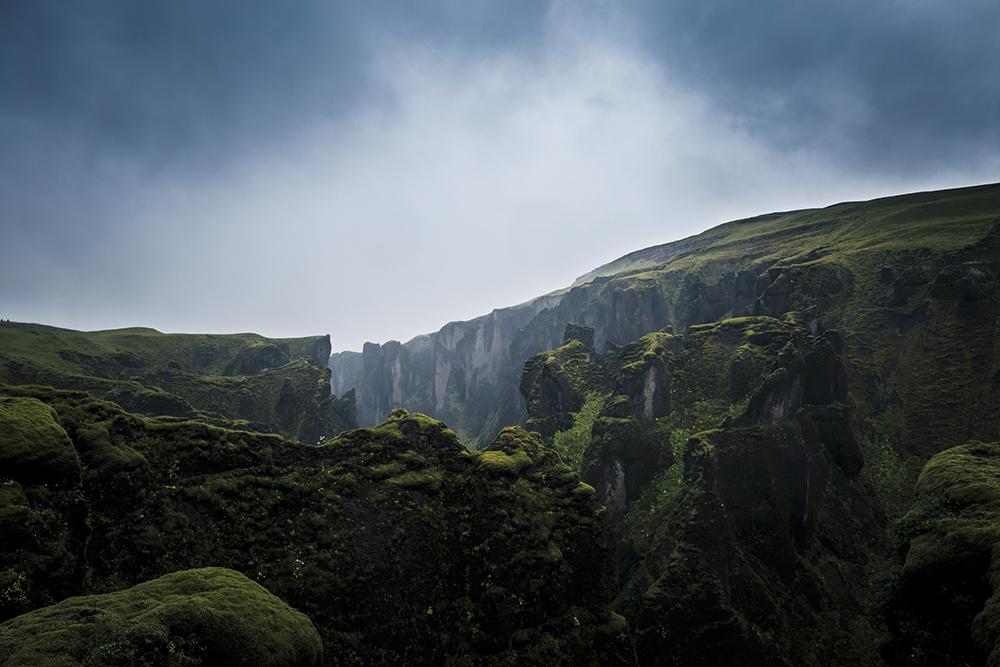 time Fjaòrárgljúfur canyon