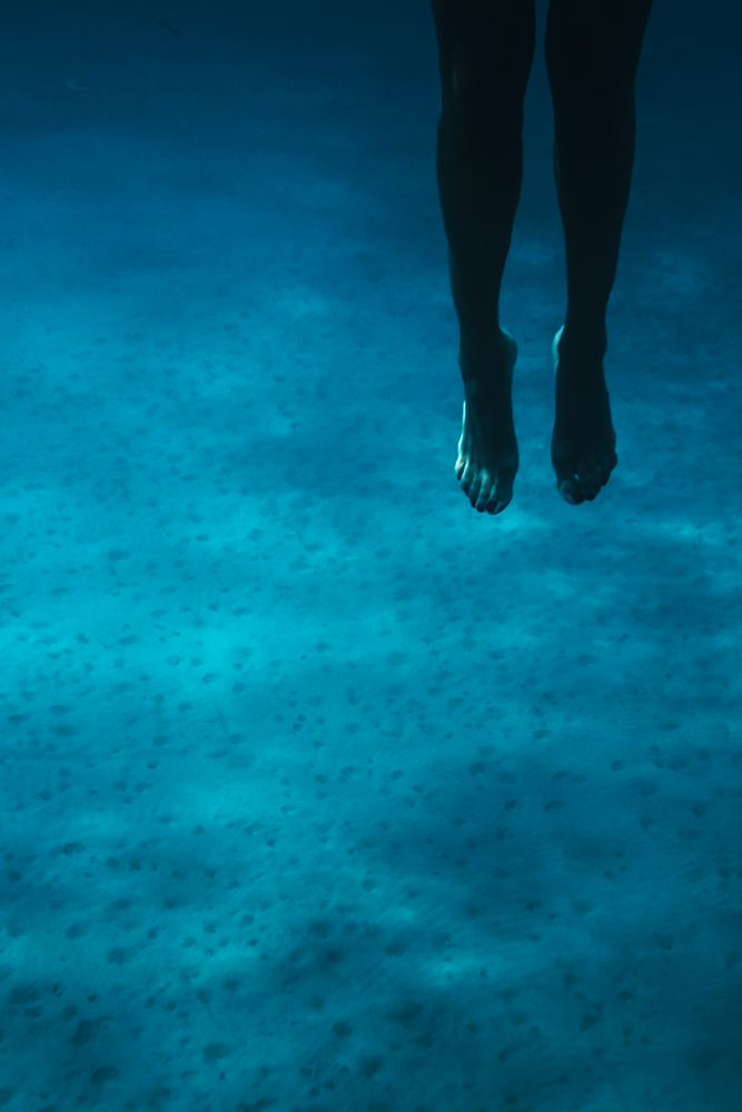 legs girl water